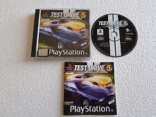 PSX SONY PLAYSTATION TEST DRIVE 5