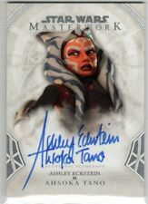 Star Wars 2018 Topps Masterwork A-Ae Ashley Eckstein As Ahsoka Tano Autograph