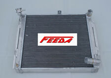 New 2 ROW Aluminum Radiator for Mazda RX-7 RX7 FC3S S5 MT 1989 1990 1991 Turbo