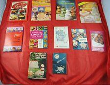 Lot Of 11 Dessert Magazines Cookbook Cookie Cake Knudson Recipes Chocolate X5O22