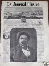 LE JOURNAL ILLUSTRE 1864 N 8  M. ALEXANDRE DUMAS - LA CORRIDA
