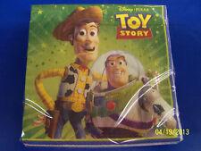 RARE Toy Story 3 Disney Pixar Movie Kids Birthday Party Paper Beverage Napkins *