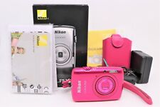 "Nikon Coolpix S01, PINK, 10.1 MP w/ 3X Optical Zoom, 2.5"" LCD touchscreen & CASE"