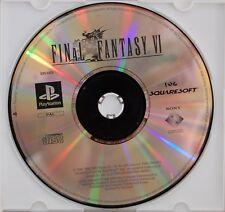 FINAL FANTASY VI - PLAYSTATION 1 - PAL ESPAÑA - SOLO CD
