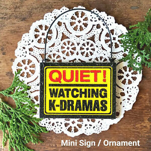 Mini Sign K-Drama KDrama Door Knob Hanger Ornament Korean Drama USA Korea