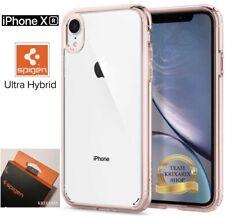 "Custodia per Apple iPhone XR (6.1"") Cover SPIGEN Ultra Hybrid Rosa e Trasparente"