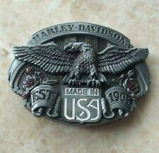 Harley Davidson Eagle Belt Buckle Motorcycles Biker Belts Buckles USA Fashion