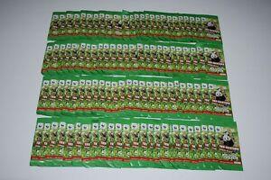 Rewe WWF Tierbilder - Rewe WWF Sticker - WWF Sammelbilder - 100 Tüten +++