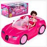 Rossa Cabrio mit Puppe Auto Spielzeug Cabriolet Kinder Mädchen Geburstag