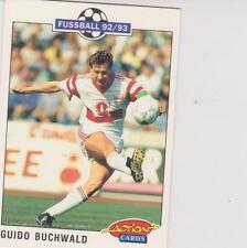 Panini Fussball 92-93 Action Cards #213 Guido Buchwald VFB Stuttgart