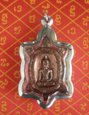 Blessed Turtle Shakyamuni Buddha Amulet  and a Turtle Temple Pha Yant Cloth