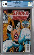 Spider-Woman V2 #1 CGC 9.8 WP U.S. Agent app.