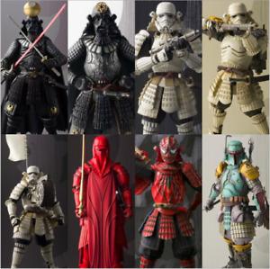"7"" Star Wars Movie Realization Darth Vader Samurai Darth Maul Action Figure TOY"