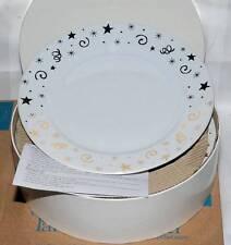 Pampered Chef Celebration Holiday Dessert Plates 8 in. Set of 4 #1996