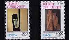 1993 Turkey Europa CEPT Contemporary Art MNH