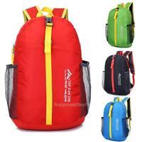 Ultralight Foldable Waterproof Backpack Hiking Bag Camping Travel Sport Pack