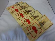5 x Stück Qualitäts Rattenfallen, Rattenfallen, Ratte, Ratten, Falle, Fallen