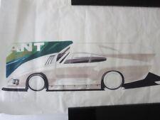 New ListingVintage 1970s Kremer Racing Porsche 935 Design Sketch Drawing Art Nottrodt