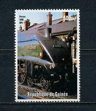 (AAAA 005) Guinea 1998 MNH 4468 Mallard Class A4 4-6-2 Pacific steam locomotive