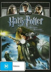 Harry Potter And The Deathly Hallows Part 1 DVD 2012 Brand New & Sealed