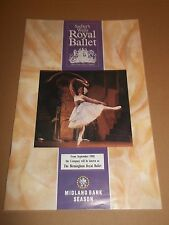 "EMPIRE THEATRE LIVERPOOL "" SADLER'S WELLS ROYAL BALLET "" 1990 PROGRAMME"