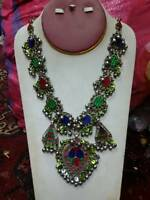 afghan tribal kuchi Traditional Jewelry necklace from Pakistan