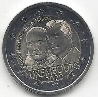 Luxemburgo 2 Euros 2020 1ª @ Duque Jean  @ Emisión Nº 27 @
