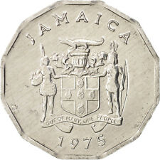 Monnaies, Jamaica, Elizabeth II, Cent, 1975, British Royal Mint, SUP #17978