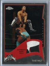 THE MIZ 2014  TOPPS CHROME WWE RELIC CARD