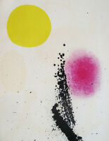 MIRO  - BEST ABSTRACT V - ORIGINAL LITHOGRAPH  - 1961 - FREE SHIP IN  US  !!!