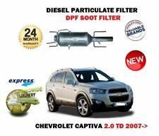 Für Chevrolet Captiva 2.0TD 2006-12/2011 Neu DPF Diesel Partikel Russ Filter