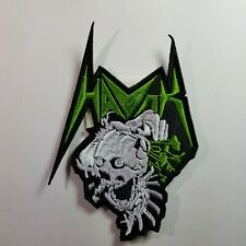 Havok shaped green logo EMBROIDERED  PATCH
