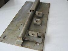 giant sized iron vintage slide bolt,1950s