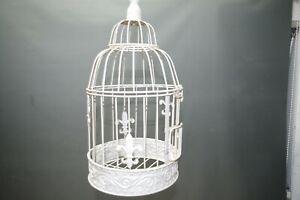 Nostalgia Metallo Gabbia per Uccelli Deco Decorazione 45 CM Squallido