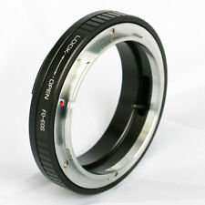 Manual Focus Adapter Ring Without Glass/Macro for Canon FD/FL Lens to EOS YIN US