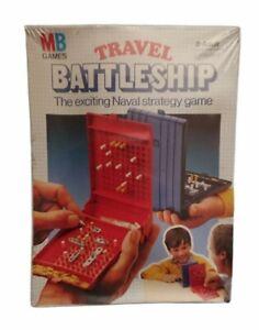 Vintage MB Games Travel Battleship 1982 Naval Strategy Game NEW SEALED
