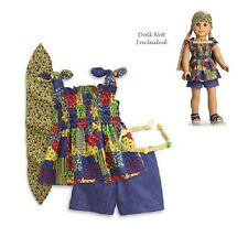 """American Girl JULIE PATCHWORK OUTFIT for 18"""" Dolls Historical Retire Julie's NEW"""