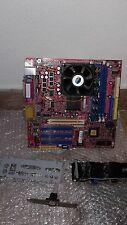 SCHEDA MADRE MOTHER BOARD MICRONICA CSP-2111 + PROCESSORE RAM PERFETTA USATO OK