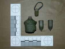 """21st Century Toys Ultimate Soldiers Acc. """"OD Canteen and assorted pouches"""""""