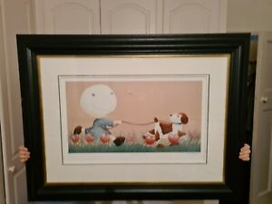 MACKENZIE THORPE -IT'S ONLY A BEE- LIMITED EDITION PRINT (47/295) GALLERY FRAME.