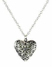 Gothic Vampire Heart Glow in The Dark Pendant  Punk Rock Metal Fetish Sexy Club