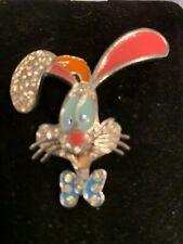 Who Framed Roger Rabbit Jeweled Disney Vintage Lapel Brooch Clasp Pin