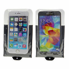 DiCAPac WP-C10i Waterproof Case iPhone 4 5 6 Galaxy S4 S5 (lot of 2 bags) Black