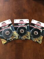 Nashua Tape 1.12 in. x 5 ft Fast-Grip in Black 3 Pack