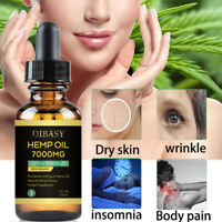 Natural Hemp Oil Extract Premium Organic 50% 5000 MG 30ml Bottle