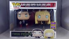 Funko Pop Television Twin Peaks Black Lodge Cooper Laura 2 Pack Summer Con