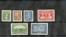 CANADA Sc 211-6(SG 335-40)*F-VF LH 1935 SILVER JUBILEE SET $75