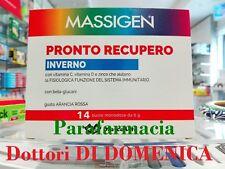 MASSIGEN PRONTO RECUPERO INVERNO DIFESA SISTEMA IMMUNITARIO Vit C - D 14 Buste