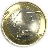 3 euro Slovenia 2017 Dichiarazione di Maggio