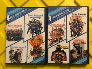 Police Academy 1-7 Collection: 4 Film Favorites 4-Disc